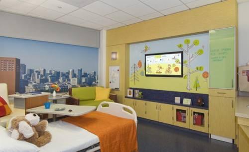 Hospital Interior Design Benioff Lobby