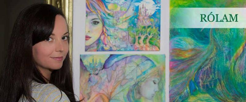 Ismerd meg a munkámat, a mesebeli rajzaimat és az általam vezetett Kreatív Boldogság Műhelyt!