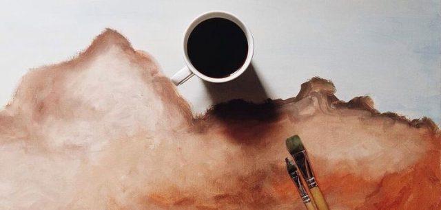 Festés kávéval 01