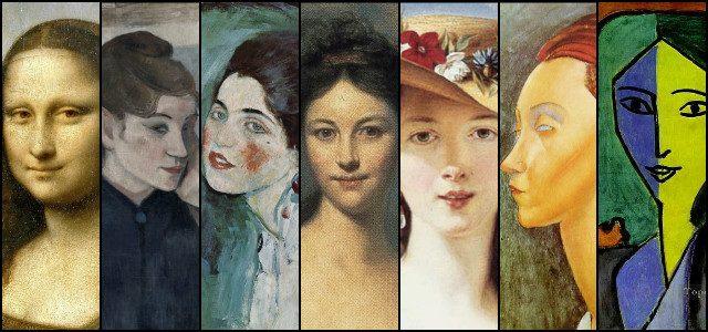 Női arcok 500 év