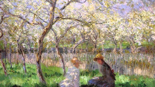 Monet festmény