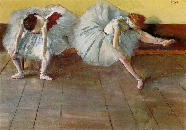 Degas balett táncosai