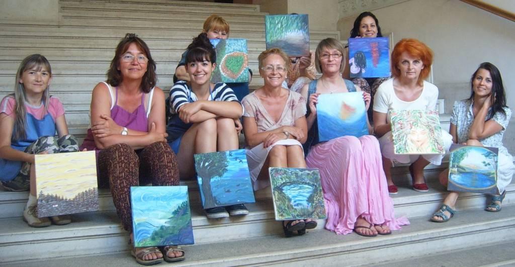 Kreatív Örömnap Nőknek a Szépművészeti Múzeumban