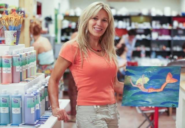 Inspiráló nők sorozat - Festőparty