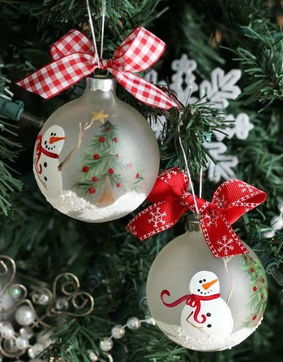 Festett karácsonyfadísz