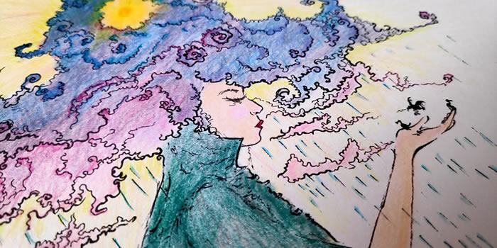 Művésznapló színezése