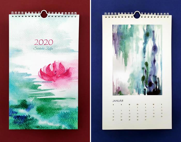 Sárhidai Zsófia - Művésznaptár 2020
