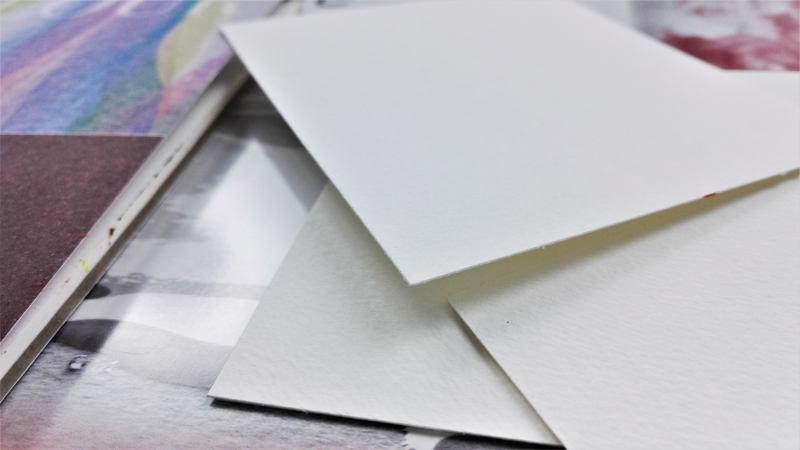 vastag akvarell papír