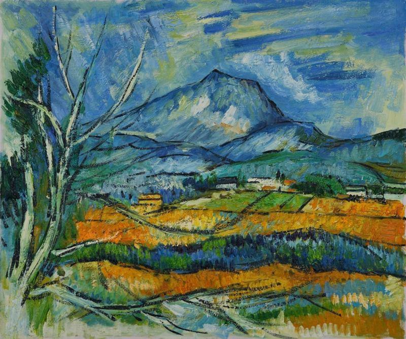 Paul Cézanne tájkép
