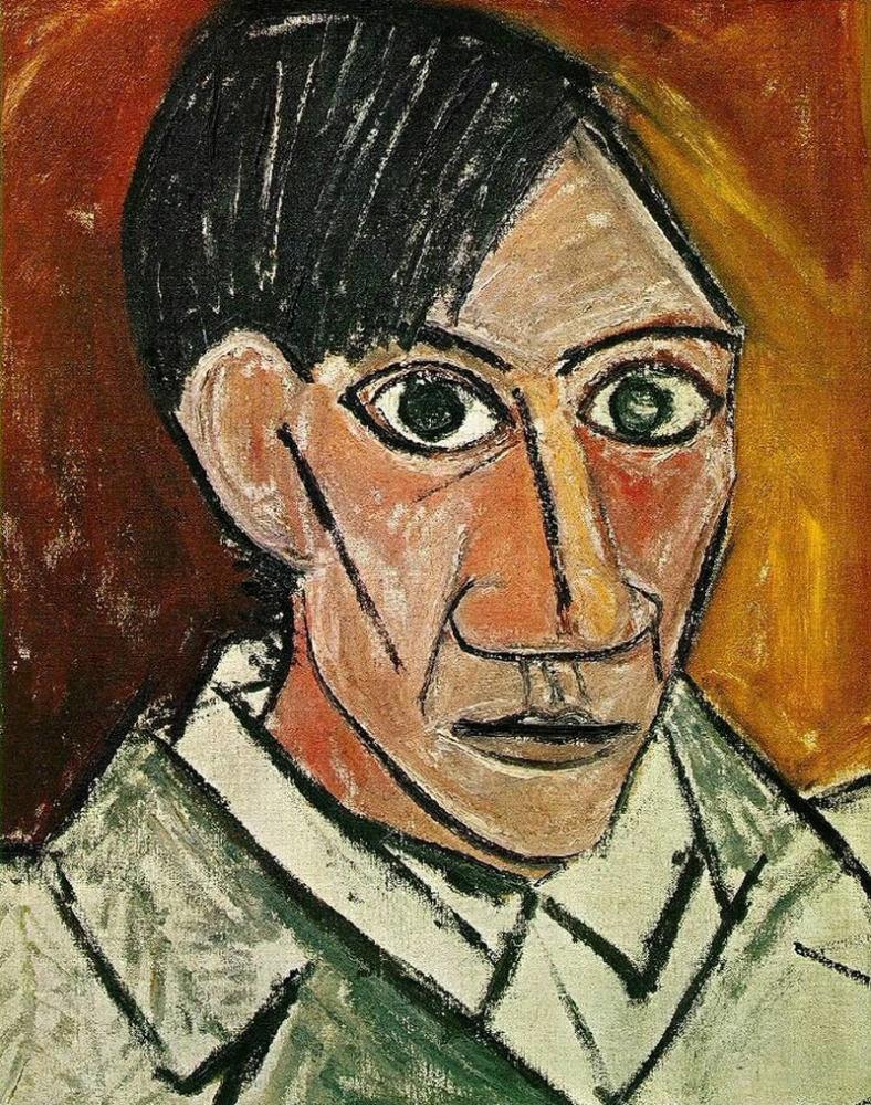 Pablo Picasso - Önarckép